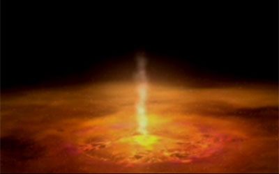 Still from Big showing a black hole X-ray source