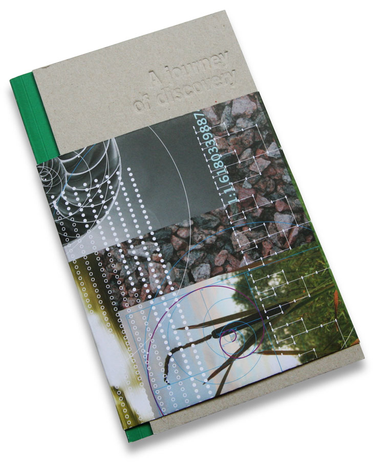 Cover of a trade-show booklet written for Lafarge