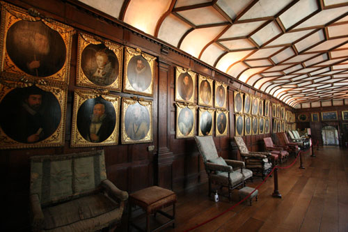 Portrait gallery at Knole, Sevenoaks