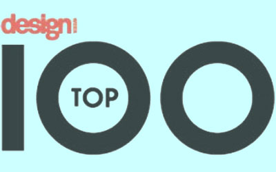 Design Week Top 100 logo
