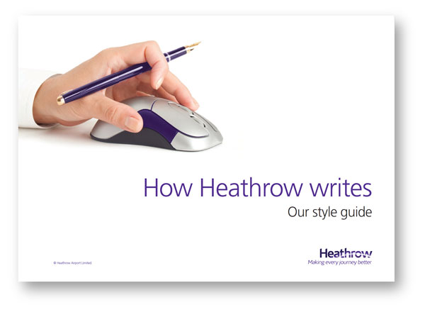 Cover of How Heathrow Writes