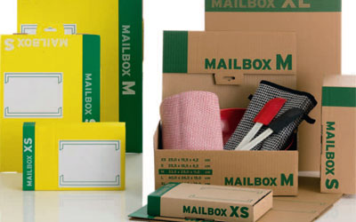Cardboard mailboxes from ProPac