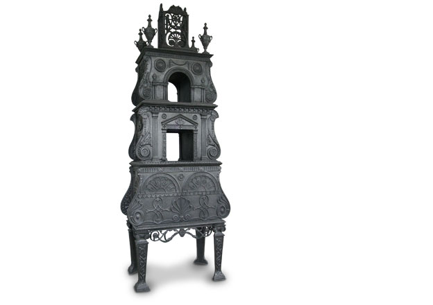 The Buzaglo stove from Knole in Kent