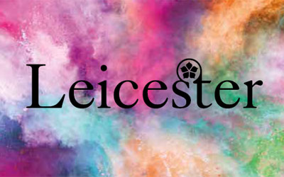 Cover detail from Leicester City Council arts prospectus